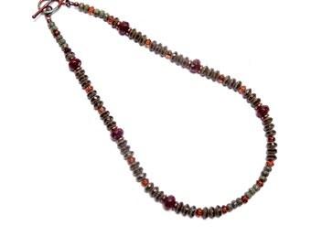 Glass Beaded Choker, Glass Beaded Necklace