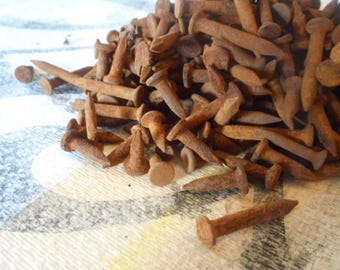 Rusty Nails for assemblage art, sculpture, home decor