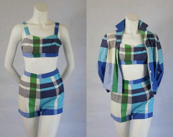 1950 Vintage Bill Atkinson Three Piece Sportswear Set Owned By The Famous Singer Keely Smith