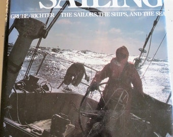 SALE Vintage 1979 The Big Book of Sailing Coffee Table Book