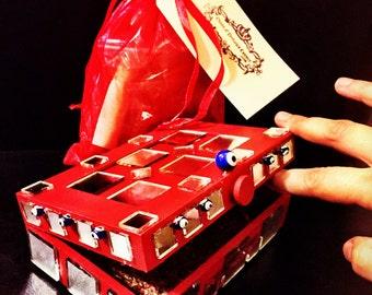 CUSTOM Mirror Box Hoodoo Spell Kit - Protection - reflect back any negativity