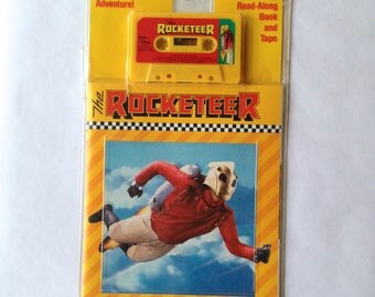 Disney's The Rocketeer Book and Cassette Tape vintage 1991