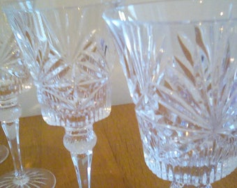 Crystal Water Wine Glasses