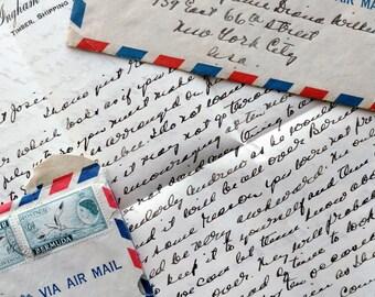 Vintage Letter & Envelope 1955 Deputante Secret Business