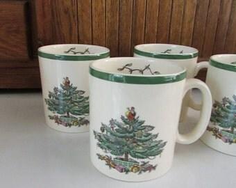 Christmas tree mug | Etsy