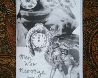 Men Who Memorize #1 zine first edition of 50