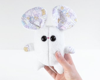 Nimbus the mouse handmade plush soft toy