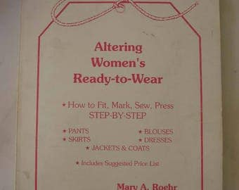 Altering Women's Ready To Wear Book.