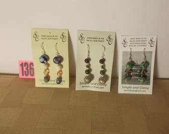 Custom Handcrafted Earrings