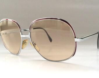 80s Vintage German Rodenstock Big Round Frame Sunglasses