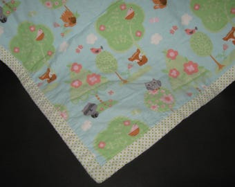 Forest Animals Blanket
