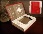 Hollow Book Safe & Flask (Gideon Bible)
