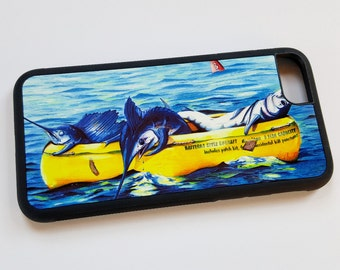 Hatteras Liferaft iPhone case fits iPhone 7 plus offshore fishing