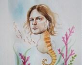 Kurt Cobain the pregnant seahorse