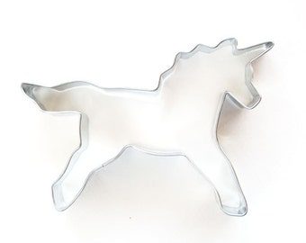 Unicorn Cookie Cutter, Unicorn Sugar Cookies, Rainbow Party, Unicorn Metal Cookie Cutter
