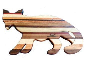 Fox styled cutting board