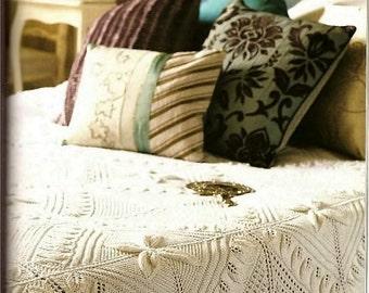 Knitting Pattern - Bedspread/Counterpane