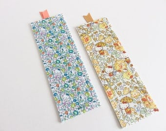 Limited Edition Hello Kitty Liberty Lawn Set Of 2 Bookmarks