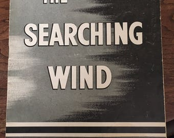 Playbill Chicago Stagebill The SEARCHING WIND with Barbara O'Neal 1945