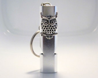 Owl Keychain Whistle Earthquake Kit Boating Whistle Scuba Diving Whistle Life Saving Whistle for Children Safety Whistle Necklace
