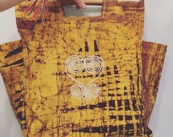 20% OFF SALE Vintage Cotton Shopping Bag • Market Tote • Vegan Bag • Ethnic  Boho