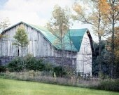Barn Photo, Old Barn Photography, Rustic Farmhouse Decor, Country Barn Photography, Farmhouse Wall Decor, Autumn Barn, Rustic Barn Photo