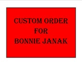 CUSTOM ORDER Reserved For Bonnie Janak Two Custom Carved Wooden Goose Eggs