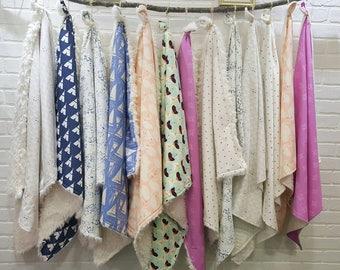 Baby Blanket - Woodland Baby Bedding - Fox Baby Blanket - Boy Baby Blanket - Nursery Bedding - Lumberjack  Blanket - Baby Shower gift