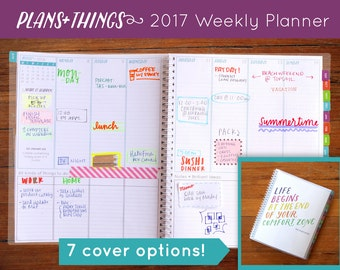 Plans+Things™ 2017 Dated Weekly Planner (Sale!!)