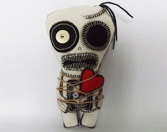 Voodoo Doll Zombie Horror Doll Day of the Dead Gift