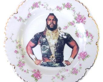 "Sergeant Bosco Portrait Plate 6.4"""