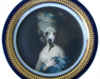 """Marie Beartoinette Plate 7.5"""""""