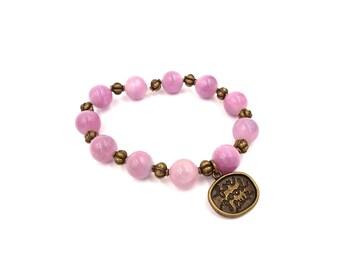 Purple Good Luck Bracelet - Protection Bracelet - Good Luck Charm - Good Luck Gift - Good Luck Bracelet - Wish Bracelet Gift