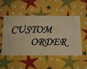 Heather-Custom Order-Final Payment-Two Step Stools