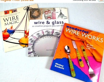 Holiday SALE Wire Work Book Collection, Projects for Home and Person - Jewelry