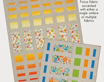 Tasty Measures Quilt Pattern from Modern Quilt Relish - Modern Pattern in 4 Sizes