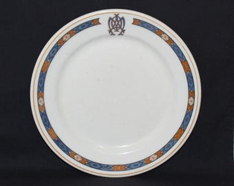 Collectible Scammell's Lamberton China Restaurant Ware Dinner Plate (996)
