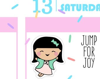 Jump for Joy - Busy Bea Planner Stickers