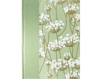 Address Book Large MINT Queen Anne's Lace