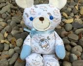 Memorial Bear - Pajama Bear - Baby Sleeper Bear - Memory Bear - Baby Bodysuit Bear - Keepsake Bear - Baby Outfit Bear - baby gift