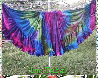 Tie Dye 25yd Hand Dyed Tie Dyed  Color Cotton Skirts Custom