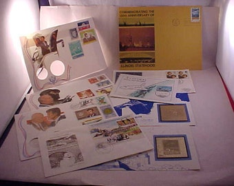 First Day Issue US Postage Stamps