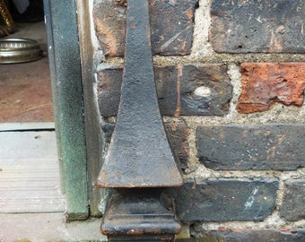 Vintage finial gate post cap supplies architectural salvage decorative spear pointed top embellishment garden home