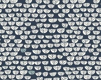 Organic KNIT Fabric - Birch Hidden Garden Knits - Sproutlet Dusk Knit