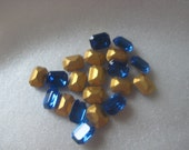 8x6 mm Swarovski Crystal Capri Blue Octagon Qty 20
