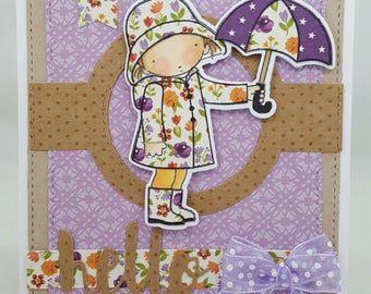 Springtime Showers - Creations By Wendalyn, Spring, Birthday, Pure Innocence, Sewn