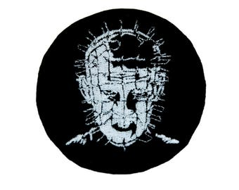 Hellraiser Pinhead Patch Iron on Applique Occult Clothing Horror Movie Clive Barker - YDS-EMPA-010-PATCH