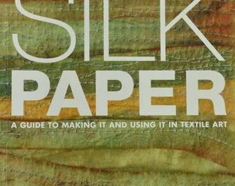 Silk Paper, Surface Design, Paper Design, Art Paper, Hand Made Paper, Textile Art, 3-D Art, Jewelry Creations