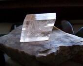 Natural Optical Calcite Viking Sunstone Raw Peach Crystal