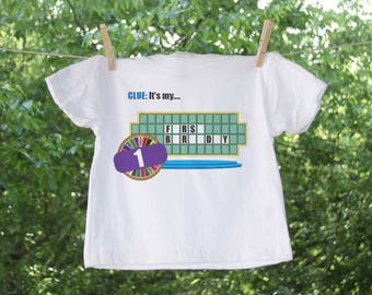 Game Show Inspired Birthday Shirt with Personalization.
